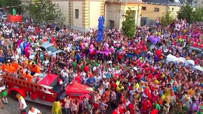 Fiestas de San Luis en La Grnja de San Ildefonso, en Segovia