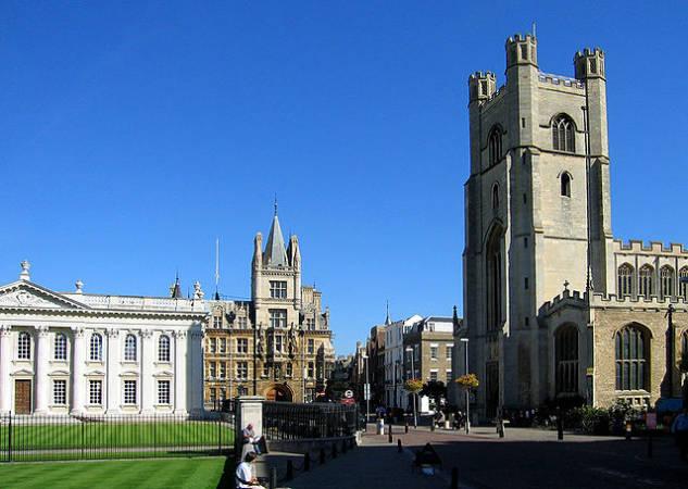 La ilustre ciudad de Cambridge, en Inglaterra