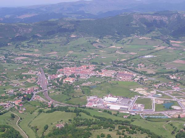 La ilustre ciudad de Orduña, en Vizcaya