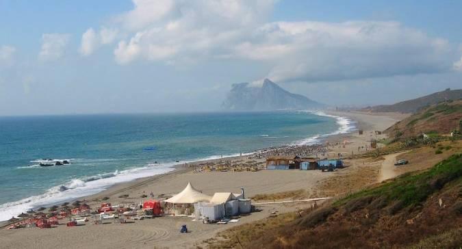 Playa de la Alcaidesa, en La Línea de la Concepción