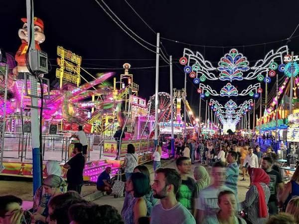 Feria de La Línea de la Concepción, en Cádiz