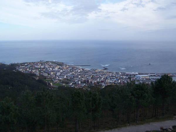 La localidad costera de Burela, en la provincia gallega de Lugo