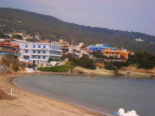 La localidad de Agia Marina, en la isla de Creta, Grecia