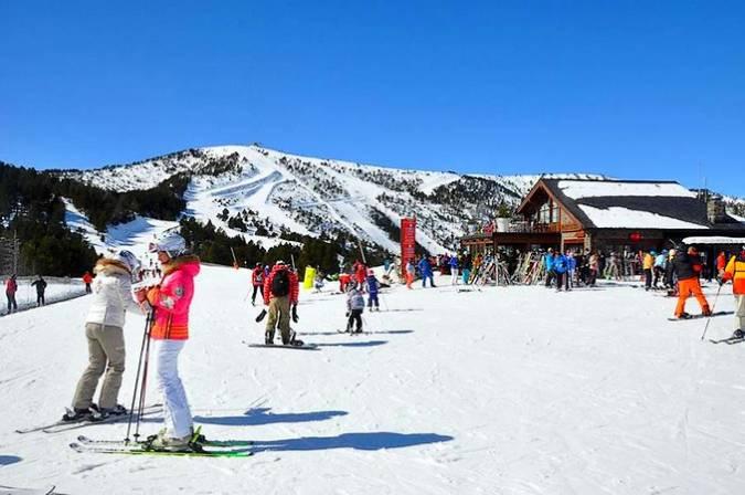 Estación de Vallnord, en La Massana, Andorra
