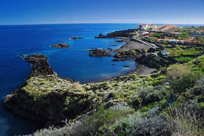 Playa de los Cancajos, en la isla de La Palma