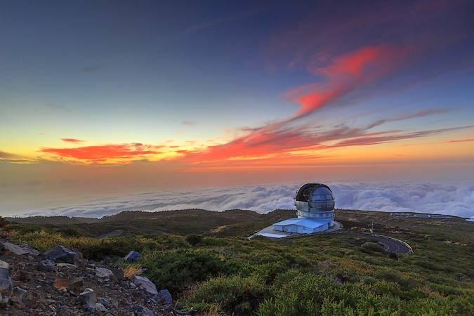 Observatorio del Roque de los Muchachos, en La Palma