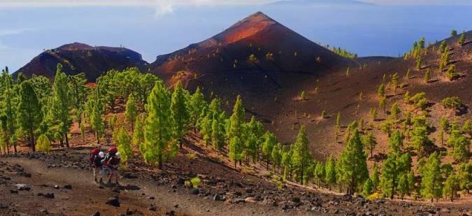 El Parque Natural de Cumbre Vieja, en La Palma