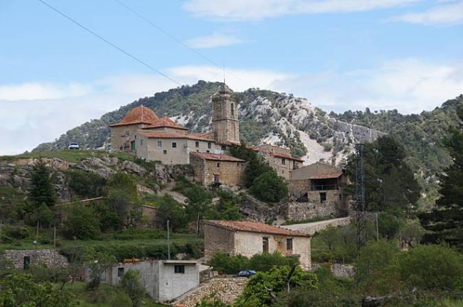 La pobla de benidfassa, en el interior de Castellón