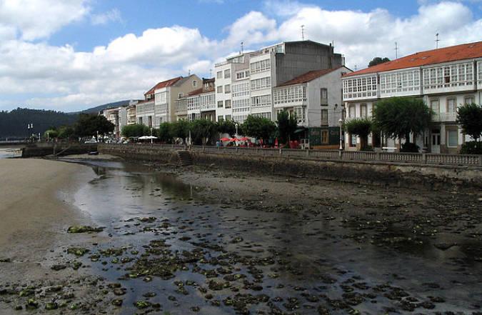 La población marinera de Cedeira, en A Coruña