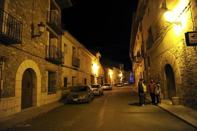 Calle de La Puebla de Valverde, en Teruel