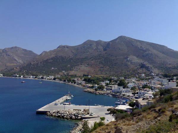 La soleada y relajante isla de Tilos, en Grecia