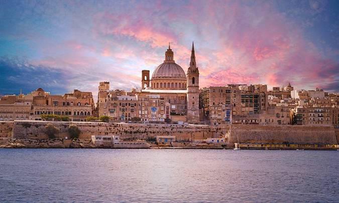 La ciudad de La Valeta, en Malta