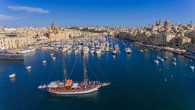 Gran Puerto de La Valeta, en Malta