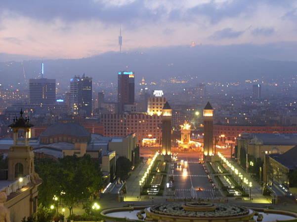 La vanguardista ciudad de Barcelona, en Catalunya