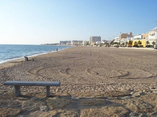 La villa de Rota, en la andaluza costa de Cádiz