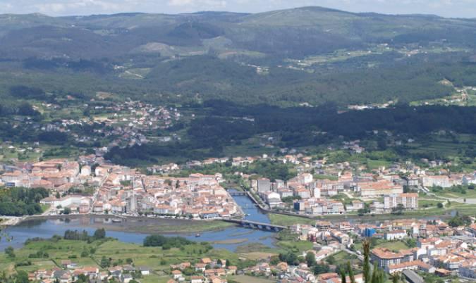 La villa gallega de Noia, en A Coruña