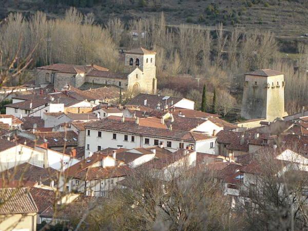 La villa medieval de Covarrubias, en Burgos