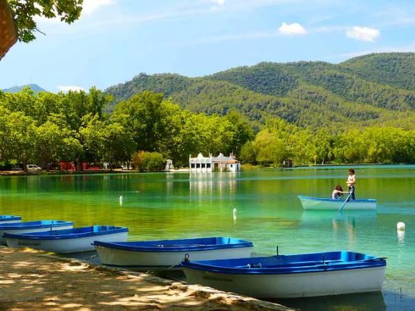 El Lago de Banyoles, en Girona
