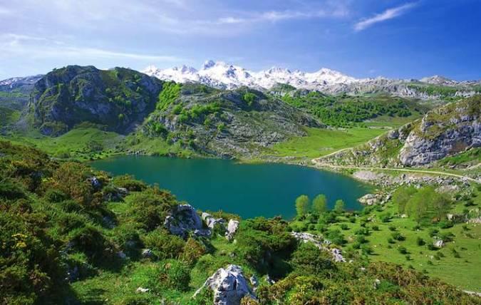Los Lagos de Covadonga, en Asturias