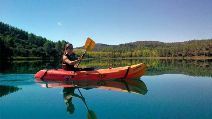 Turismo acivo en las Lagunas de Ruidera