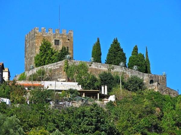 Castillo de Lamego, en Portugal