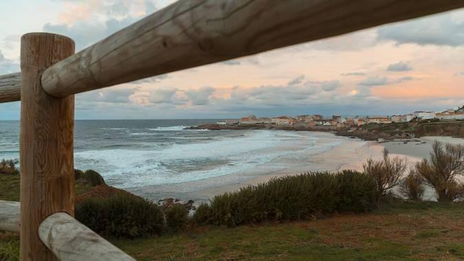 Laracha, en la costa de A Coruña