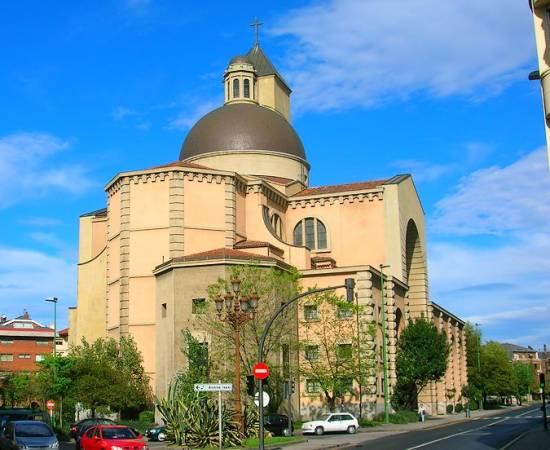 Iglesia de Nuestra Señora de las Mercedes, en Las Arenas, Getxo