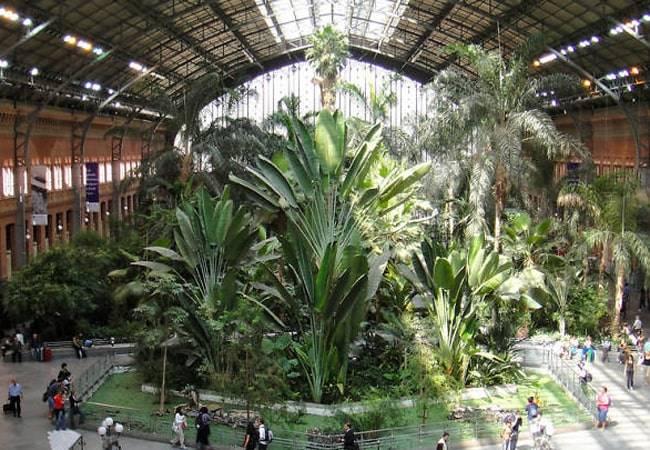 Estación de Atocha en Madrid