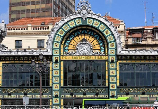 Estación de la Concordia en Bilbao