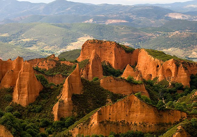 Las Médulas, las montañas de oro en León