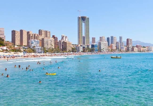 Las mejores playas de Benidorm