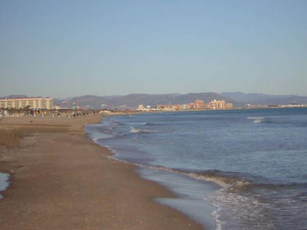 Playa Malvarrosa de Valencia