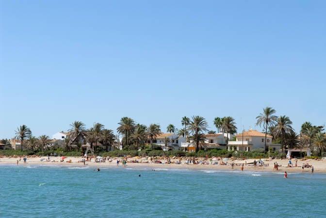 Playa del Puig, en El Puig, Valencia