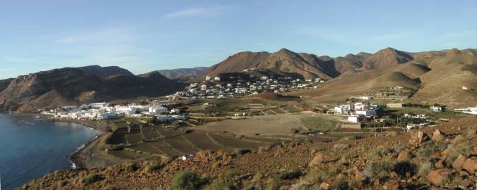 La Negras, un tranquilo destino en la costa de Almería