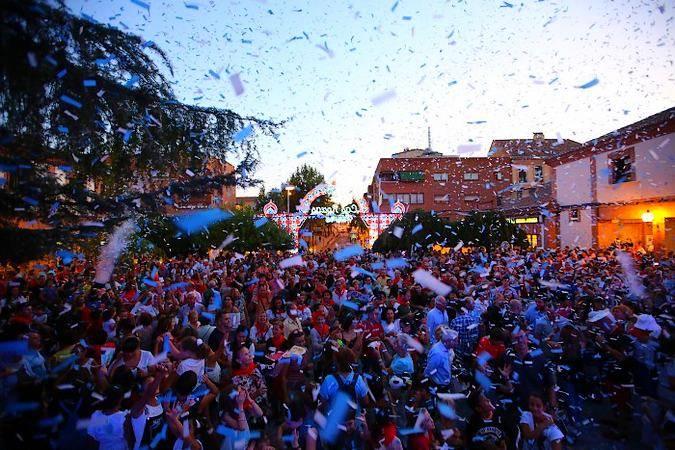 Fiestas de San Miguel, en Las Rozas