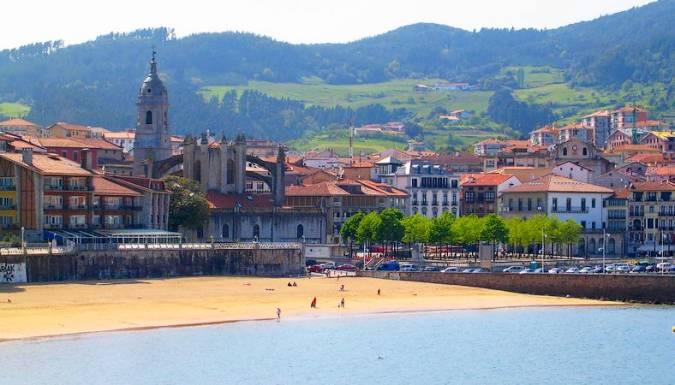 El pueblo pesquero de Lekeitio, en Vizcaya