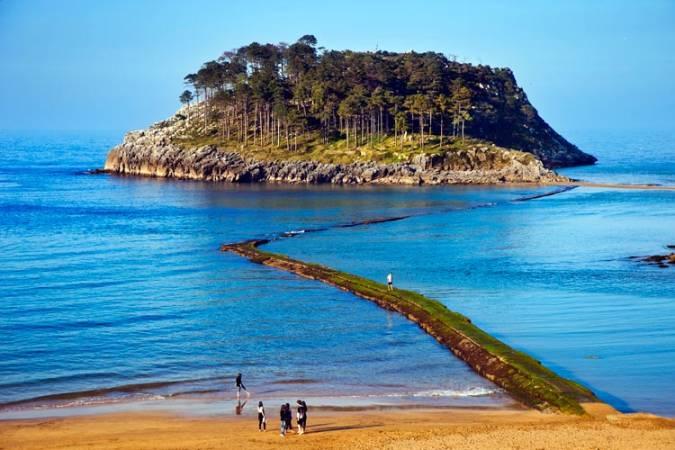 Isla de San Nicolás, en Lekeitio