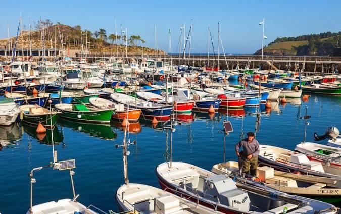 Puerto de Lekeitio, en Vizcaya