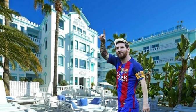 Leo Messi amplía su cadena de hoteles