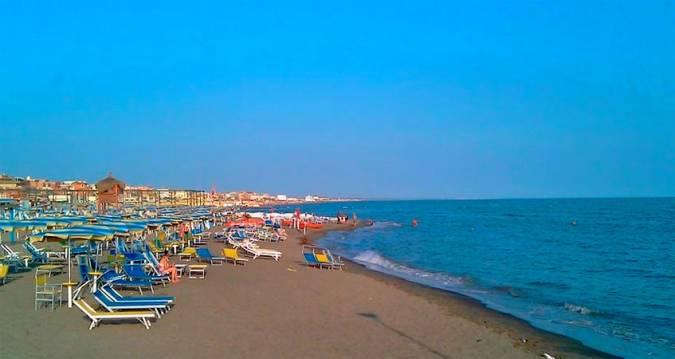 Lido di Ostia, la playa de Roma