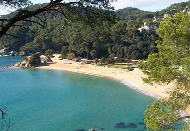 Playas en Lloret de Mar