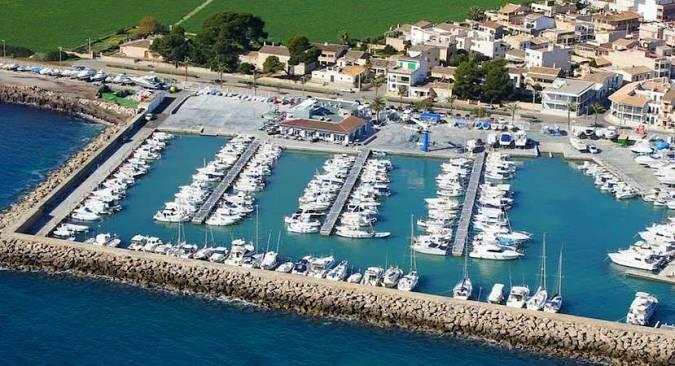 Puerto Deportivo S'Estanyol, en Llucmajor, Mallorca