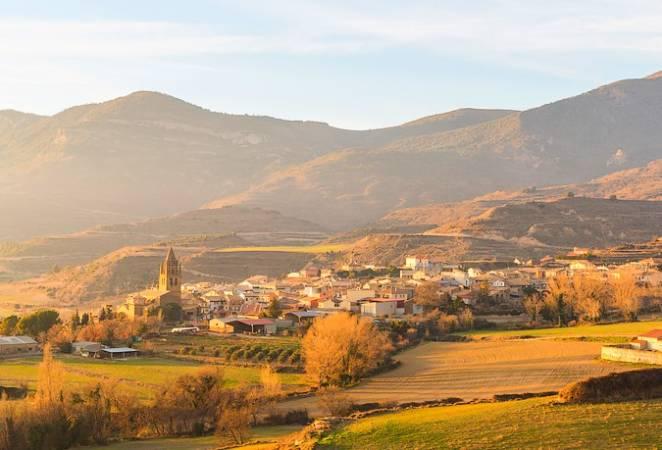 La villa de Loarre, en Huesca