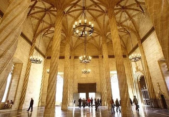 La Lonja de la Seda en Valencia: Patrimonio de la Humanidad