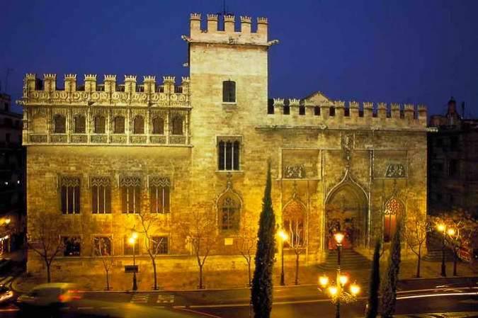 La Lonja de la Seda de la ciudad de Valencia