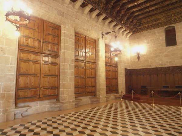 Consulado del Mar en la Lonja de la Seda de Valencia