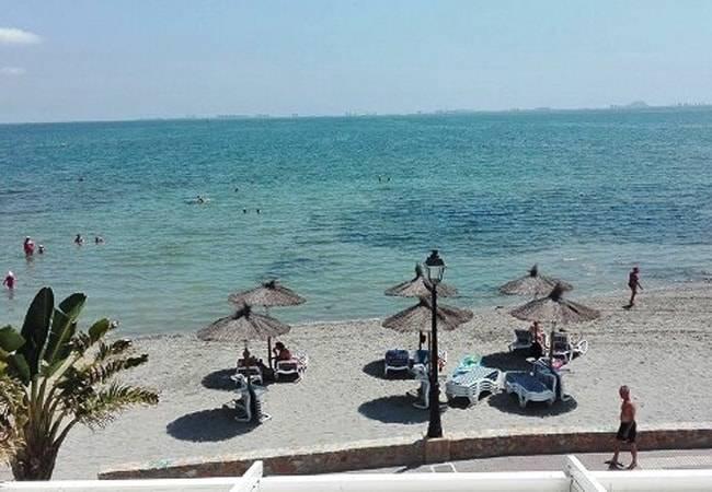 Las playas de Los Alcázares