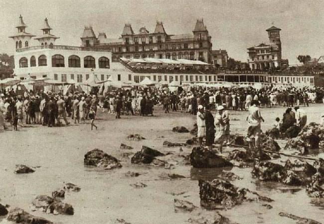 Historia de los Baños de Ola en Santander