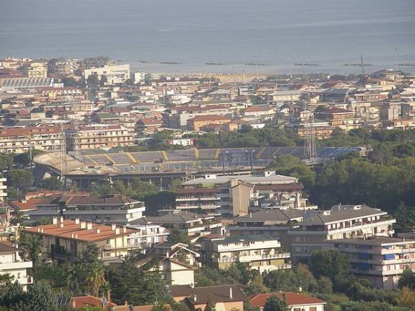 Turismo costero en Pescara, Italia