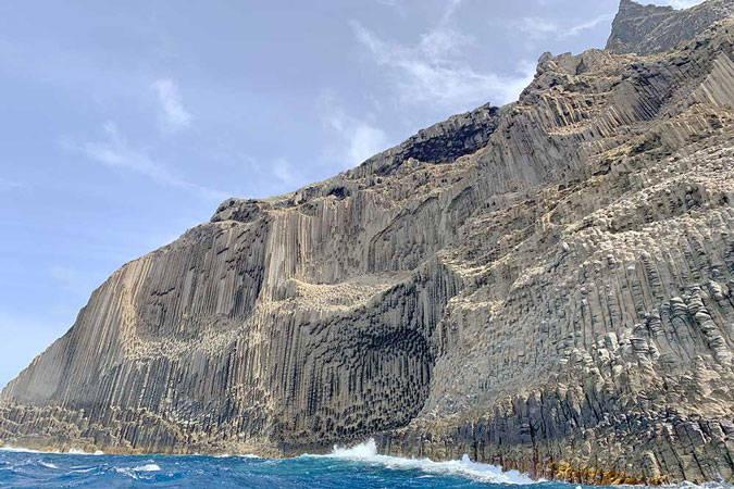 Monumento Natural de Los Órganos en La Gomera